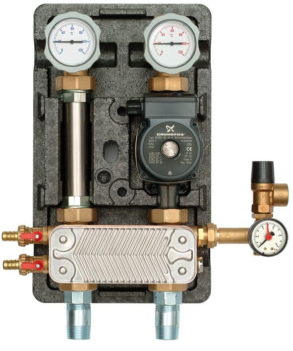 Теплообменник для водяного пола как очистить от накипи теплообменник нева 3212